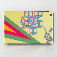 hipster iPad Cases featuring hipster by mark ashkenazi
