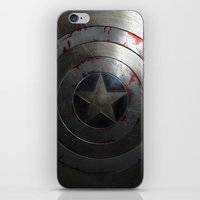 agents of shield iPhone & iPod Skins featuring SHIELD by Bilqis