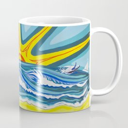 Surfers Summer Days Coffee Mug