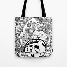 Thoughts on paper Tote Bag