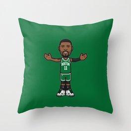 KyrieIrving Icon Throw Pillow