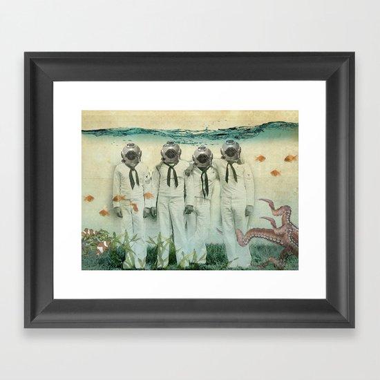 octopuses garden Framed Art Print