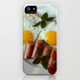 fried egg iPhone Case