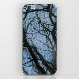 BETWEEN BRANCHES II iPhone Skin