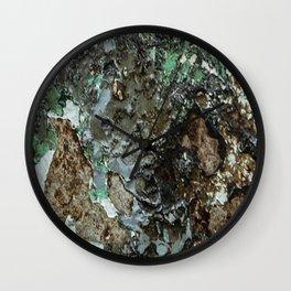 Weathered Iron rustic decor Wall Clock