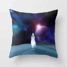 Moonchild Wanderlust Throw Pillow
