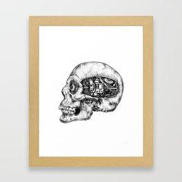 Skull - II Framed Art Print