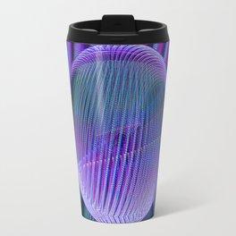 Crystal ball lines 3 Travel Mug