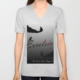 EXCELSIOR | The Raven Cycle by Maggie Stiefvater Unisex V-Neck