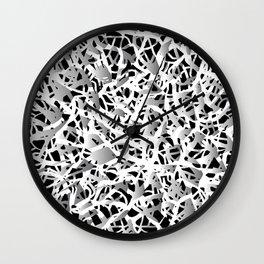 deep structure Wall Clock