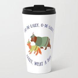 Robin Hood and Little John Travel Mug
