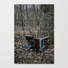 Technological Slavery Canvas Print