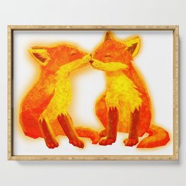 FireFoxes Serving Tray