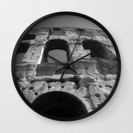 Roman Architecture at its Best Wall Clock