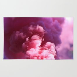 Pink Puff Cloud (Color) Rug