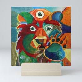 Three Eyed Bear Mini Art Print