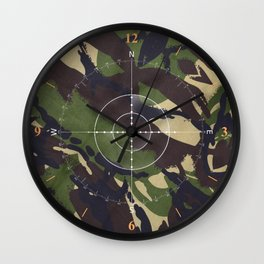 You Can't See Me! Wall Clock