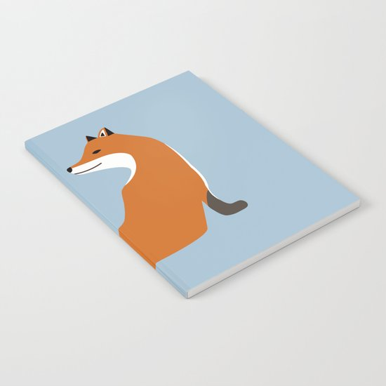 Foxy Takes The Pose Notebook