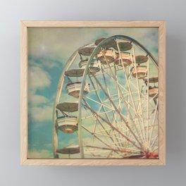 Ferris wheel 1 Framed Mini Art Print