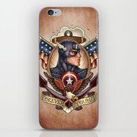 forever young iPhone & iPod Skins featuring FOREVER YOUNG by Tim Shumate