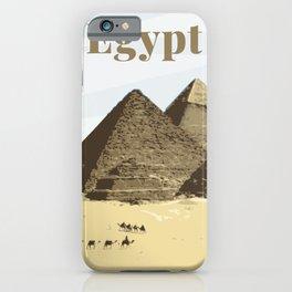 Pyramids of Giza Egypt iPhone Case