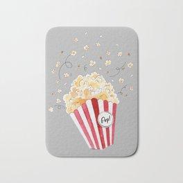 crazy popcorn Bath Mat