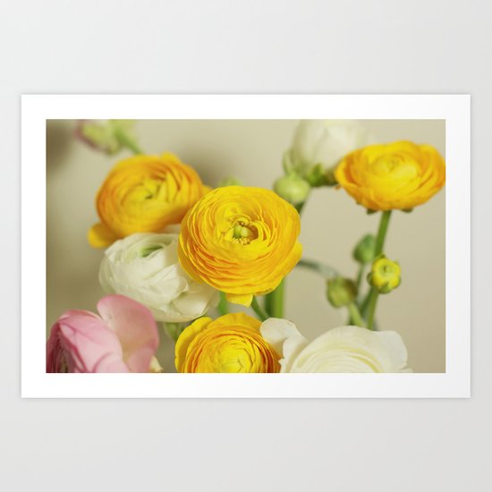 You are my flower Art Print