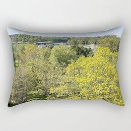 View From Oulu  Rectangular Pillow