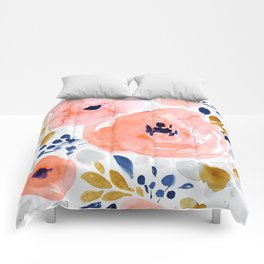 Genevieve Floral Comforters