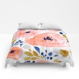 Genevieve Floral Comforters