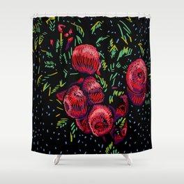 MANZANO NOCTURNO Shower Curtain