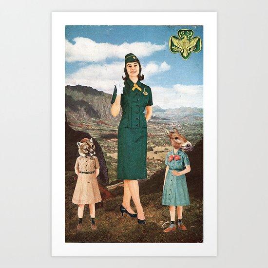 Girl Scouts of America Art Print