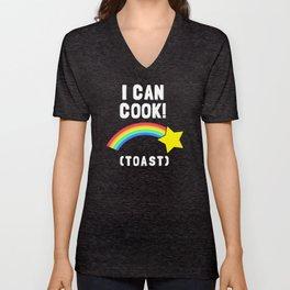 I Can Cook (Toast) Unisex V-Neck