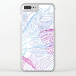 Minimalist Curve lover Clear iPhone Case