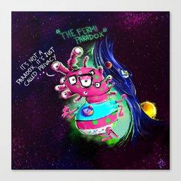 The Fermi Paradox Canvas Print