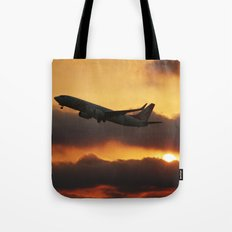 higher than the sun Tote Bag