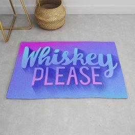 Whiskey Please - Gradient Rug