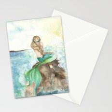 Summer Mermaid Stationery Cards