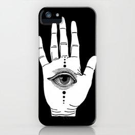 Hamsa Horus iPhone Case