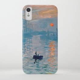 Claude Monet Impression Sunrise iPhone Case