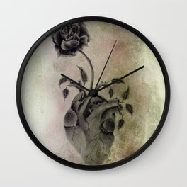 """""""Thorns in my Heart""""  Wall Clock"""