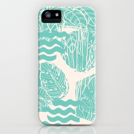 Jungle Green iPhone Case
