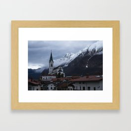 Parish Church of the Sacred Heart Framed Art Print