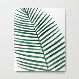 Tropical watercolor Metal Print