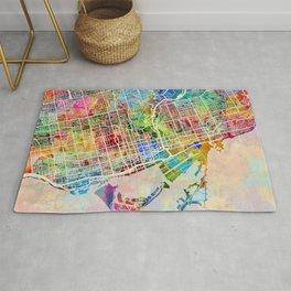Toronto Street Map Rug