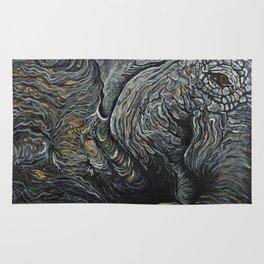 Waking Elephant Rug