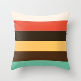 Color Series 003 Throw Pillow
