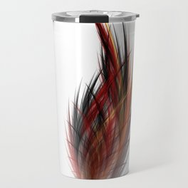 Fractal Feather Travel Mug