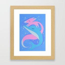 cosmic play Framed Art Print