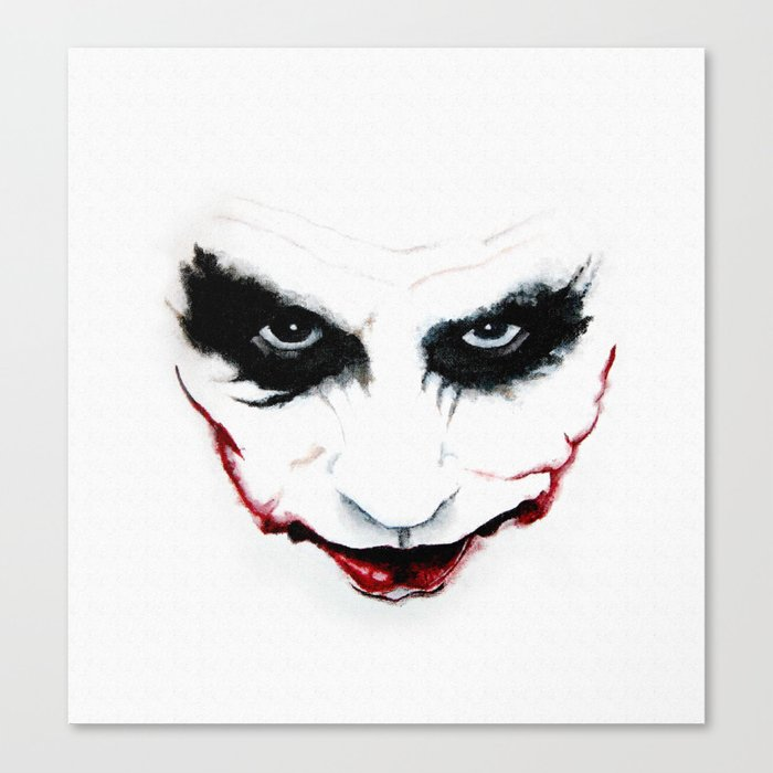Joker Canvas Print